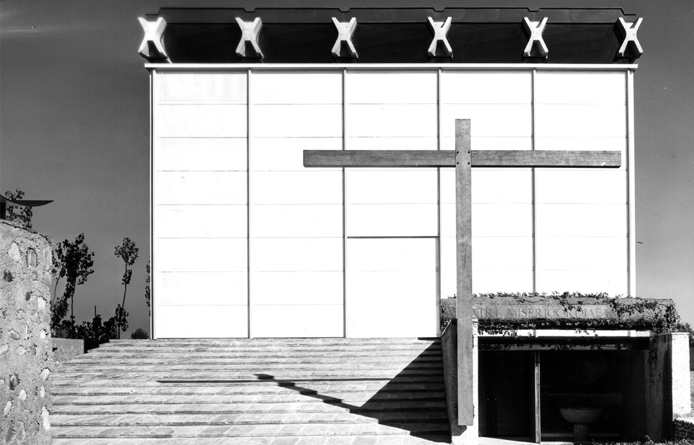 Chiesa parrocchiale, Baranzate di Bollate (MI) - 1956
