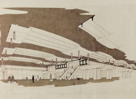 Nuova Stazione FF.SS., Pescara - 1968