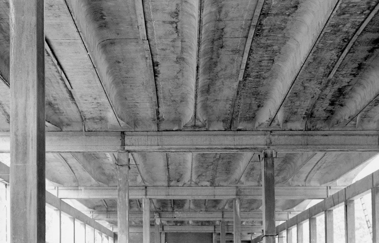 Stabilimento Franchi, autorimessa, Borgosesia (NO) - 1965