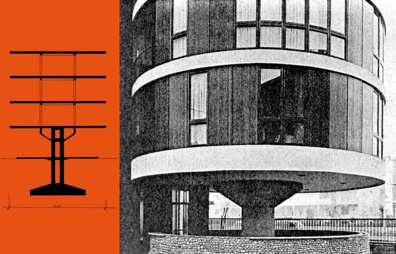 Edificio d'abitazione, via Gavirate 27, Milano - 1960
