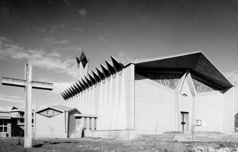 Chiesa parrocchiale, Canton Vesco, Ivrea - 1958