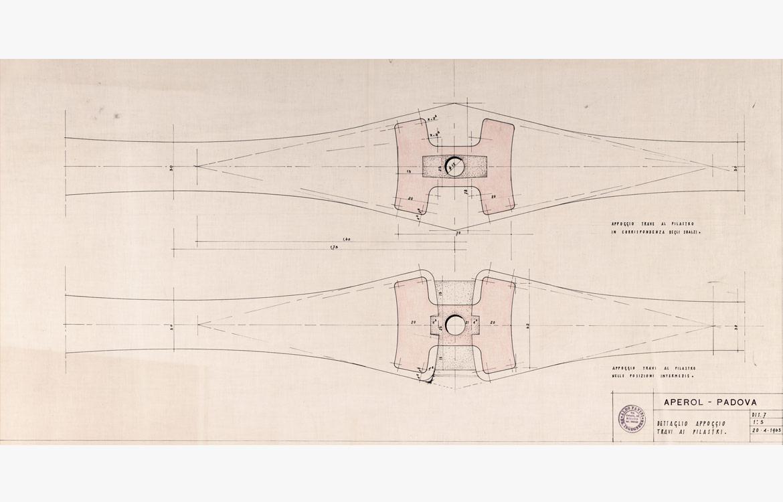 Stabilimento Aperol, Padova - 1963/1970