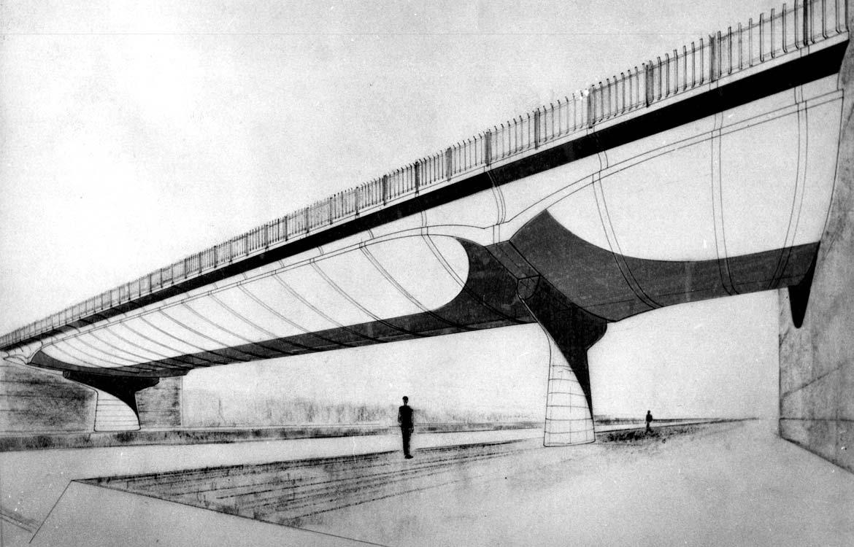 Ponte canale Milano-Cremona-Po - 1965