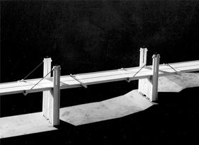 Ponte sul fiume Entella - 1966